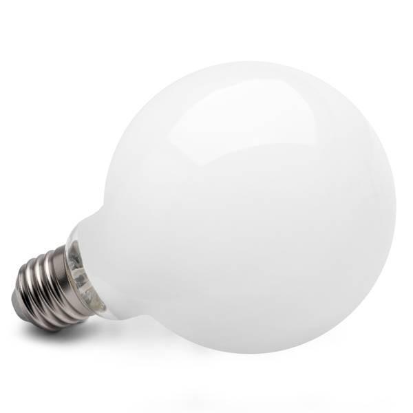 E27 10w LED Globe matt ca. 75w-100w Glühbirne extra warmweiss