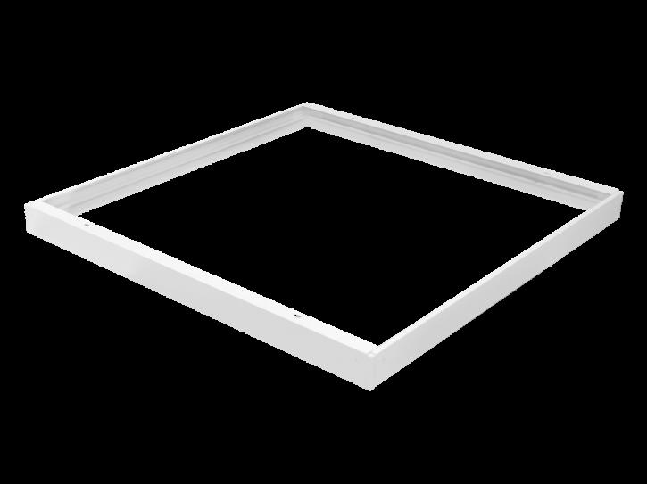 Aufputzrahmen für Panele 60x60 weiß 43mm