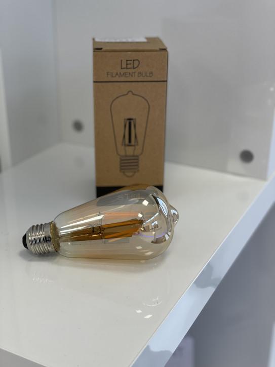 LED Filament Bulb E27 230v 8w 2700k dimmbar