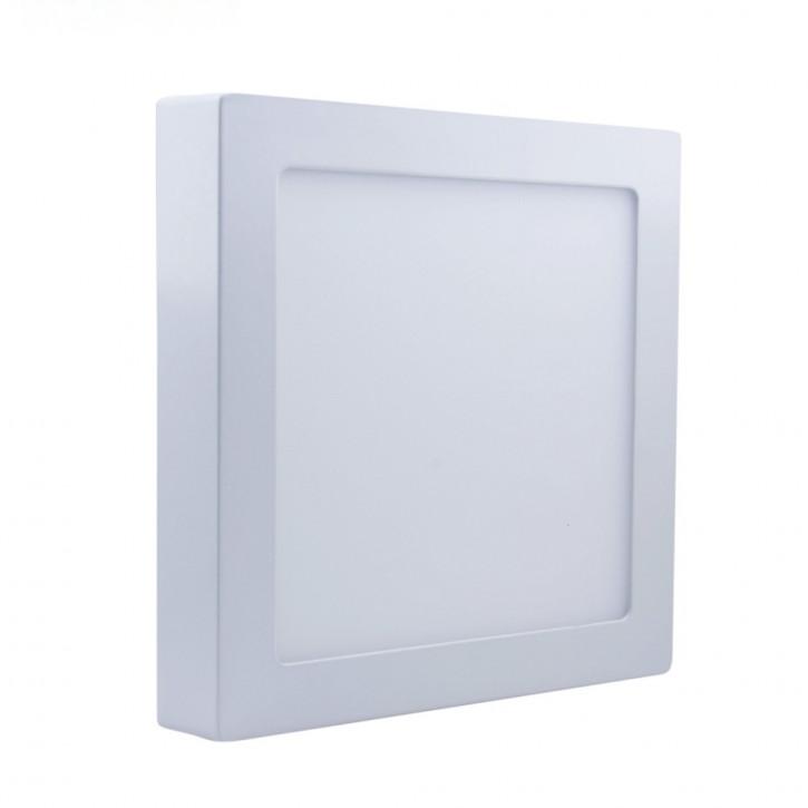 9w LED Auftputz-Panel Warmweiss Eckig
