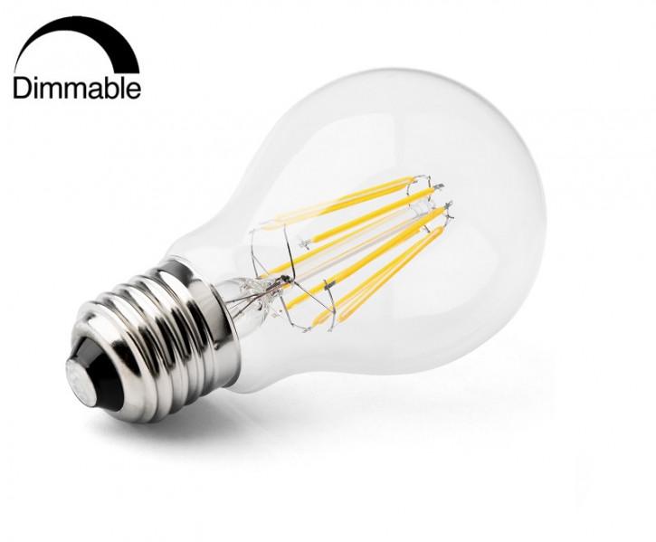 E27 8w LED Birne warmweiss 3000k dimmbar