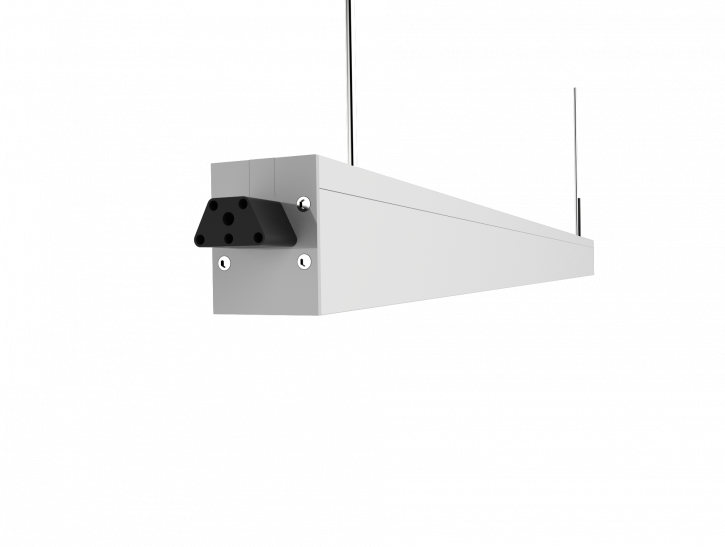 120cm Lichtband Stecksystem 60° neutralweiss 40w UGR <19