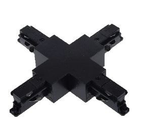 3 Phasen X / + Verbinder schwarz XR-565-B