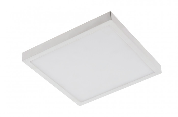 18w LED Aufputz Panel warmweiss eckig