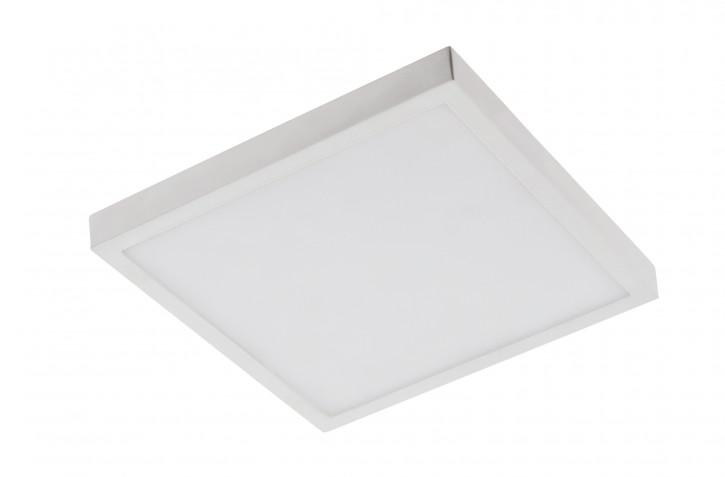 24w LED Aufputz Panel warmweiss eckig dimmbar