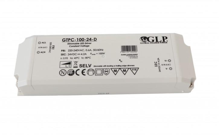 24v 100w GTPC-100-24-D MM Möbeleinbau Netzteil direkt primär dimmbar
