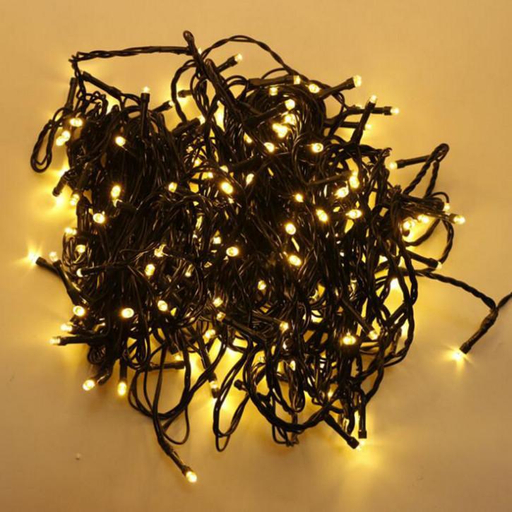 LED Christbaumbeleuchtung für innen und außen 20m