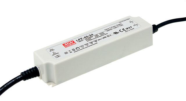 12v 25w MW LPF-25D-12