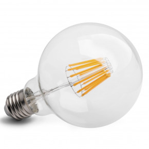 E27 10w LED Globe klar ca. 75w-100w Glühbirne extra warmweiss