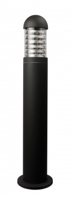 Massive Aluminium Wegeleuchte E27 Anthrazit H: 60 x D: 11cm