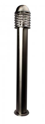 Massive Edelstahl Wegeleuchte E27 H: 50 x D: 15cm