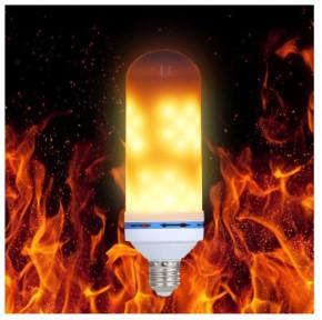 E27 6w LED Birne 1200 Kelvin mit Flammen Effekt