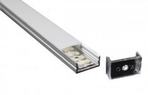 LED Alu Profil T5 standard inkl. Abdeckung klar 2500mm