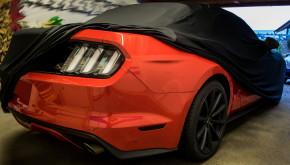 Super-Soft indoor Car Cover Auto Schutz Hülle für Ford Mustang V VI ab 2014