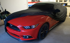 Super-Soft indoor Car Cover Auto Schutz Hülle für Ford Mustang V VI ab 2014