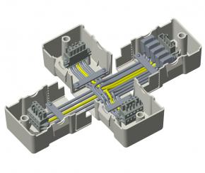 X Verbinder 230v Schiene